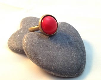 The Red - Bronze Ring