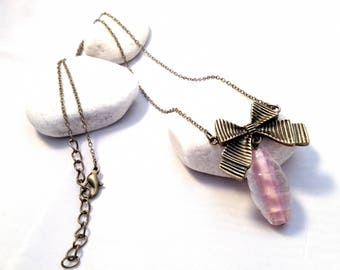 The knot necklace and Pearl