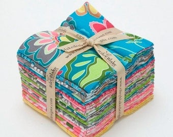 Sale Fantine Fat Quarter Bundle by Lila Tueller for Riley Blake, Complete Collection, 18 Fabrics, Factory Cut
