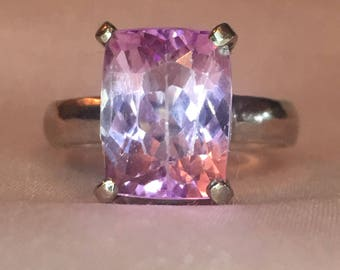 Kunzite Natural Pink Gemstone Ring