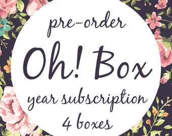 PRE-ORDER - Oh! Box! - all 4 boxes!
