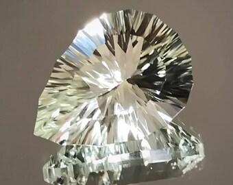 Dazzling Prasiolite Amethyst Superb Custom Cut Gem
