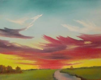 Untitled original artwork . oil painting