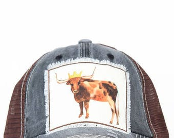Womens cow hat*