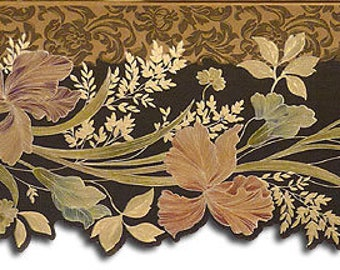 Floral Wallpaper Border 87944DC