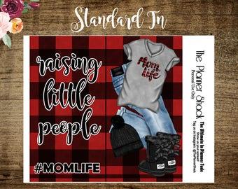 Mom Life Standard TN   Standard TN   Buffalo Plaid   Mom life    Dashboards  Printable Dashboard   Printable   Travelers Notebook