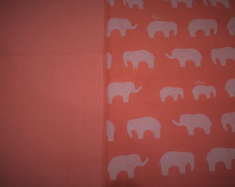 Choose your own size and style-Baby nest 100% birch organic cotton, coral, ELEPHANT, docking station, co sleeper, travel bed