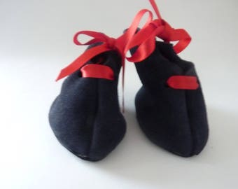 Dolls vintgage suede boots - New