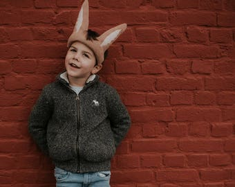 Kid's Rabbit Ears - Bunny Ears - Rabbit Ears - Halloween Costume