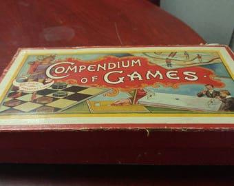 Compendium of Games British Manufacture very old!