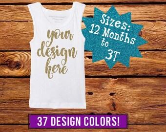 Baby Girl Tank Top, Custom Girls T-Shirt, Toddler Girl Shirt, Baby Girl Tank Top, Personalized Girls Shirt, Custom Girl Shirt, Baby Girl