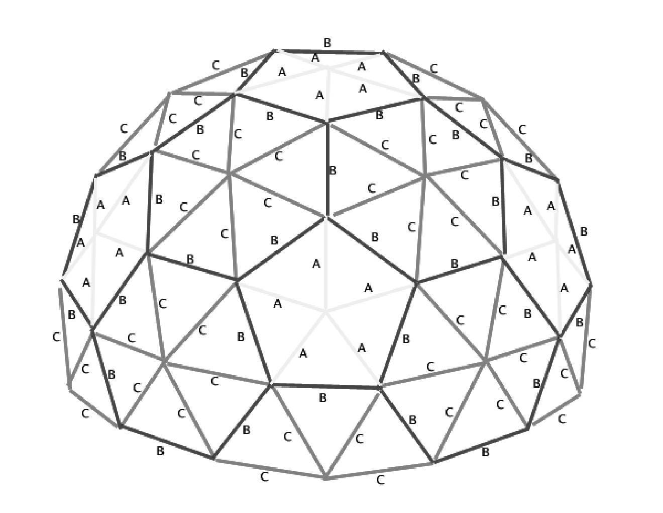 step by step instructions to build your own geodesic dome