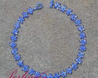 Beaded Necklace Stars