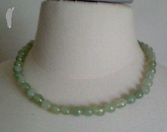 genuine jade bead necklace