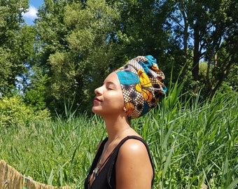 MY TRIBE headwrap 'African Flower'