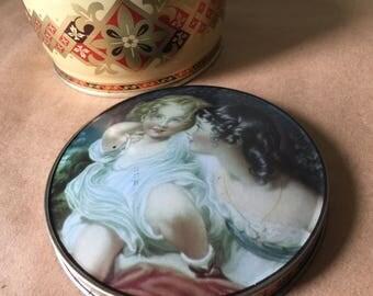 Pretty Girls Tin Renoir Style Tin Box Thorne's Toffee