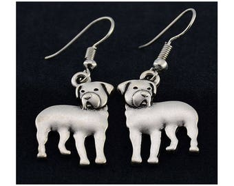 Rottweiler Charm Earrings
