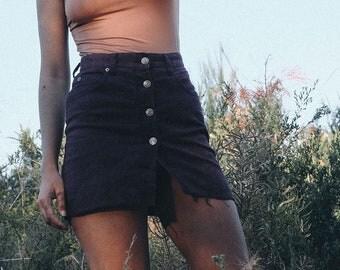 Vintage 90s Denim Skirt - Just Jeans