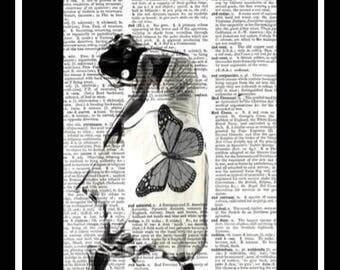 522 Vintage dictionary art