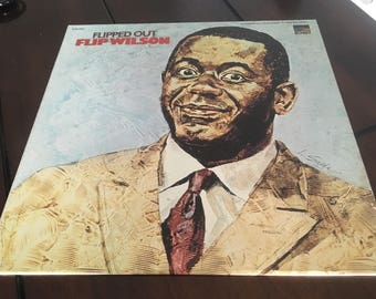 Flip Wilson Flipped Out vinyl record