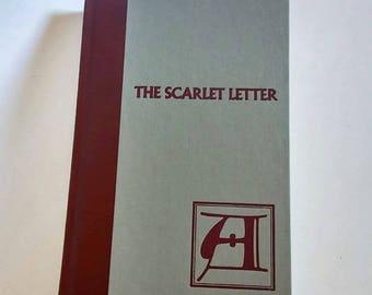 The Scarlett Letter by Nathaniel Hawthorne  Hardcover  Romance
