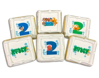 Bubble Guppies Cookies - 2 Dozen
