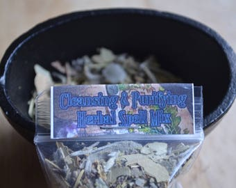 Cleansing & Purifying Herbal Spell Mix
