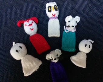 Lovely finger puppets for Halloween or just for playing