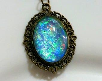 Blauen Opal Schmuck Etsy