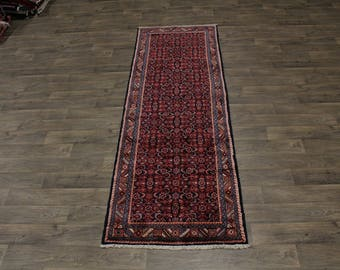 3X10 Allover Pattern Runner Hossainabad Persia Rug Oriental Area Carpet 3ʹ5X10ʹ4