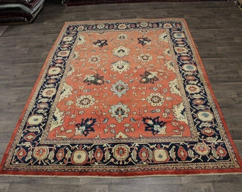 8X12 Fantastic Floral Sultanabad Persian Wool Rug Oriental Area Carpet 8ʹ3X11ʹ7