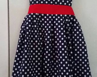 """4th of July Apron """"American Sweetheart"""""""