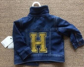 Baby Customised Denim Jacket