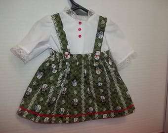 2 pc Christmas jumper for 18 inch doll