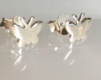 Butterfly studs/Butterfly earrings /Sterling butterfly studs/silver butterfly studs/butterfly jewellery /