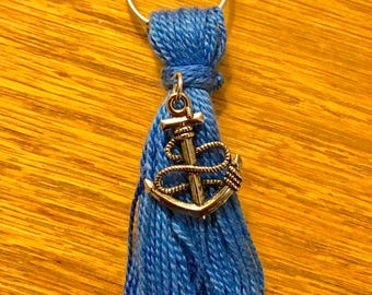 Handmade Sailor-Sea-Anchor Keychains **Variety of colors**