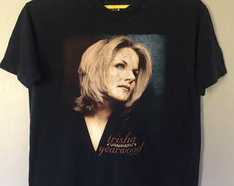 Vintage Trisha Yearwood 1997 Tour XXL Size