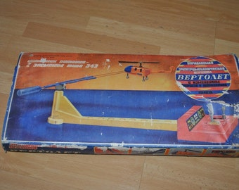 Vintage Children's Toy USSR Helicopter