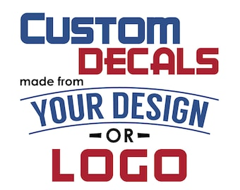 Custom Car Decals Etsy - Custom vinyl stickers australia   the advantages