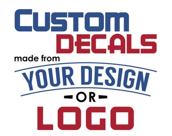 Custom Car Decals Etsy - Custom vinyl decals etsy