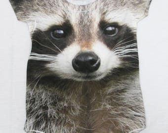 Raccoon Sewing Pattern Pdf Felt Baby Raccoon Ornament