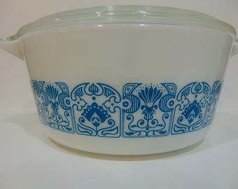 Vintage Pyrex Horizon Blue 475
