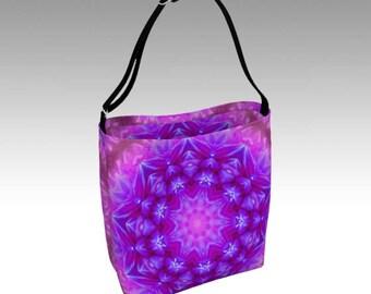 Purple Tote, Tote Bag, Beach Bag, Grocery Bag, Day Tote, Market Tote, Book Bag, Shopping Bag, Farmer's Market Tote, Travel Bag, Shoulder Bag