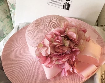 Pink Pastel Picture Hat