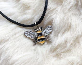 Save the Bees Bee Choker or Necklace