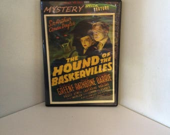 Sherlock Holmes in The Hound of Baskervilles (DVD) 1939 Detective/Mystery