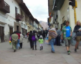 Cuzco/Peru/Inca Culture/Print/Picture Decor/Photography/Wall Art/Gift Ideas/Travel/Vacation/Canvas/Framed Pictures/Cusco