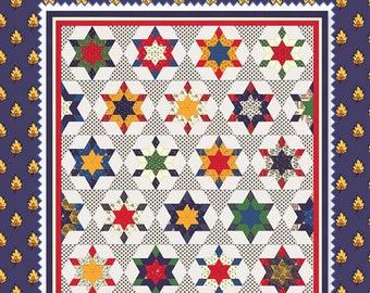 American Jane Star Diamonds pattern by Sandra Koop, aj386