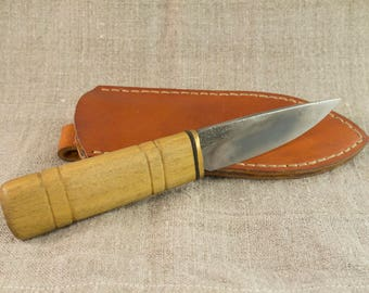 Hand Forged Knife with sheath