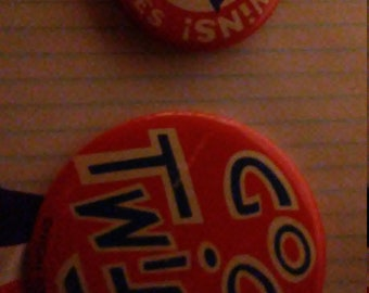 rare 1965 minnesota twins pinback buttons twins first world series highly collectible pinback button set of 2